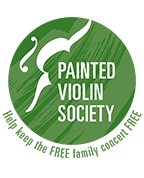 Stand and raise your paddle to join the Painted Violin Society. Along with the generous support of Jerry Damson Automotive, you will be proud sponsors of the family concert series. Each Painted Violin Society member will receive a commemorative painted violin poster, and your name will be printed in the fall and spring Huntsville Symphony Orchestra program. 